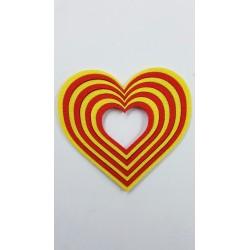 Corazón estelada
