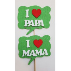I Love Mamá /Papá