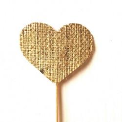 Corazón Yute 70x60