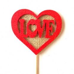 Corazón Yute (Love) 90x80